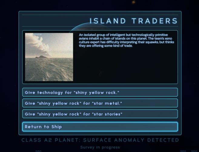 Alien Worlds, Part II: Interaction